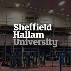 We have overseen projects for Sheffield Hallam University