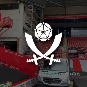 We have overseen projects for Sheffield United F.C.
