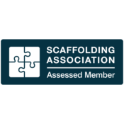 We Are An Assessed Member Of The Scaffolding Association